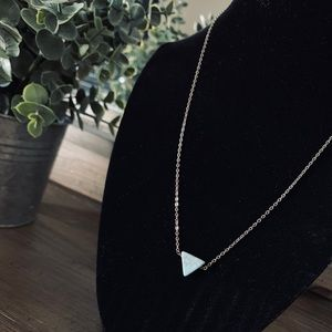Earthbound Trading Co • Triangle Necklace